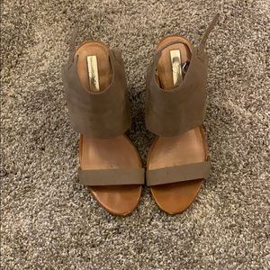 Halogen Suede Wedges